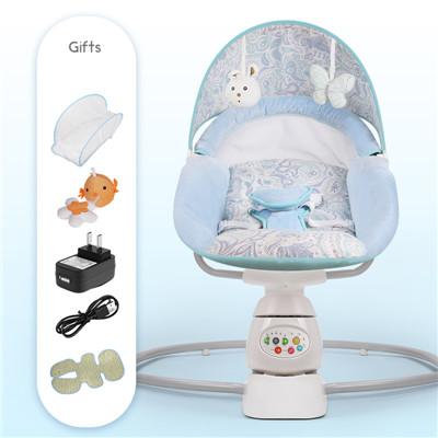 2018 nuevos productos bebé cama abatible mecedora bebé eléctrica ...
