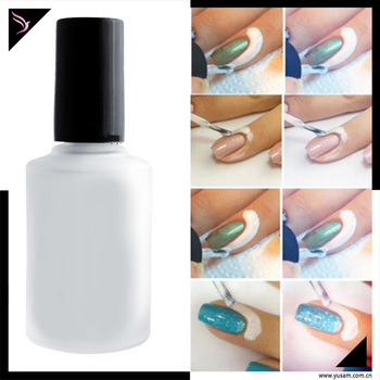 L Off Manicure Protector Nail Art Latex Liquid Tape Base Coat