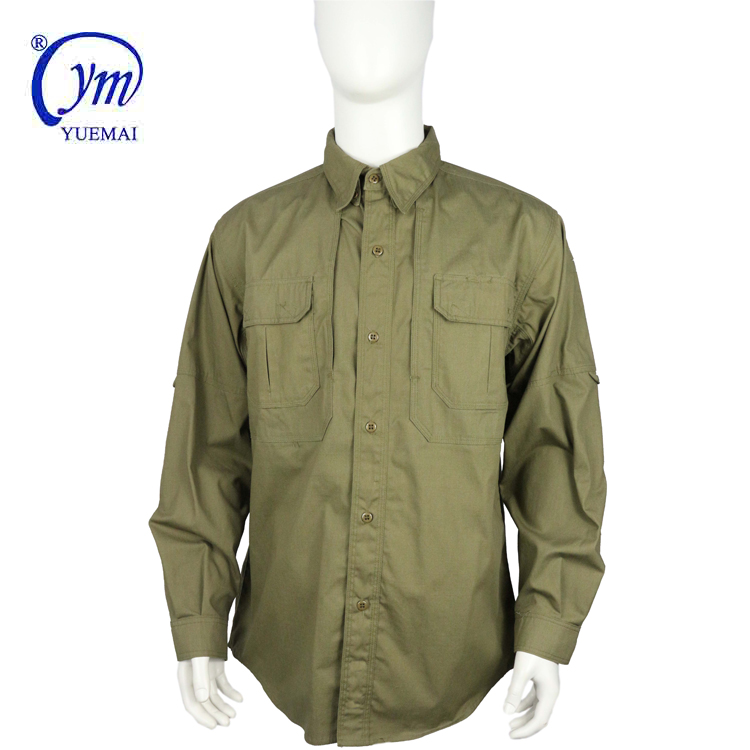Tactical Long Sleeve Shirts Military Men's Clothes Quick Drying Clothing