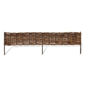 Attrayant Cheaper Master Garden Products Rolled Willow Border Fence Wholesale