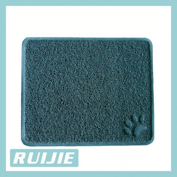 BPA Free premium Cat Litter Mats- Best Quality Kitty Litter Catcher Urine Proof Litter Mats- Soft Rugs for Cats Paw