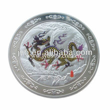Color Printing The Year of Dragon Sterling Silver Coin