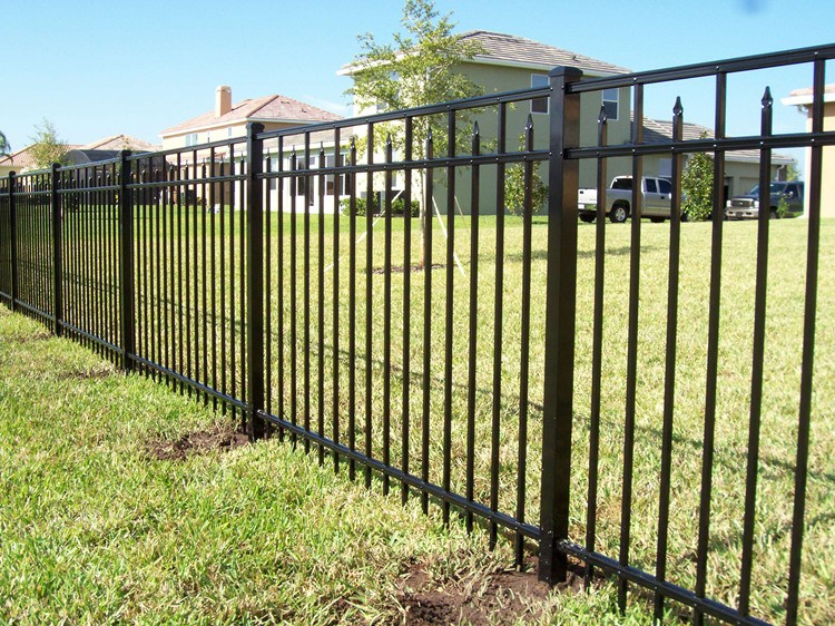 metal fence panels cheap wrought iron fence panels for. Black Bedroom Furniture Sets. Home Design Ideas