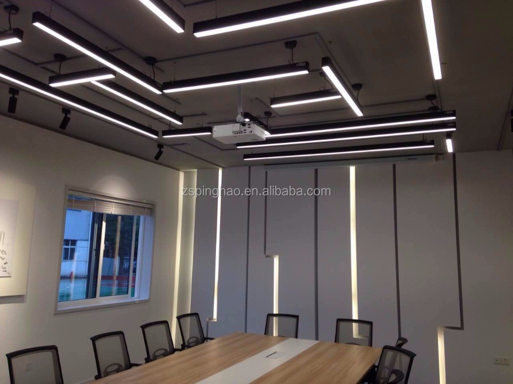 Exposed Ceiling Linear Lighting With Ce Saa Certification For Open ...