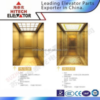 Hairline stainless steel cabin for elevator/HL-12-56