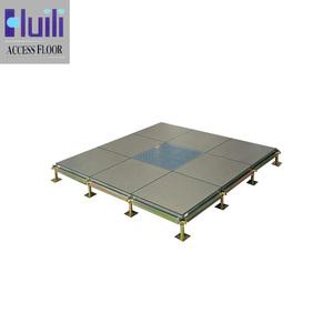 OEM B-EC anti-static calcium sulphate raised access floor system for computer room