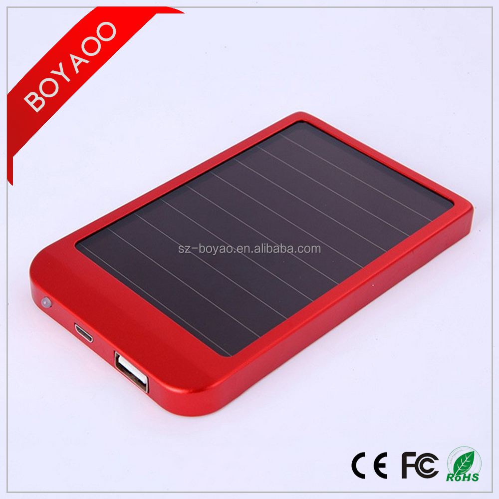 2017 Mobile Power Bank Solar Charger 10000mah Waterproof Solar Power Bank