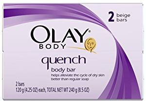 Olay Quench Bar Soap, 2 ct