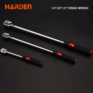 "Harden Hand Tool 1/4"" 3/8"" 1/2"" Micrometer Torque Wrench"