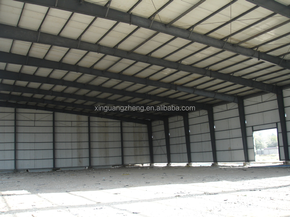 prefab lightweight metal structure warehouse building