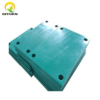 UHMWPE plastic sheet for dock marine fender pad