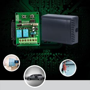 Universal 315mhz/433mhz two channels Single use learning code receiving  controller YET402PC-DM