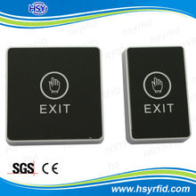 RFID access control door button switch and infrared exit push button
