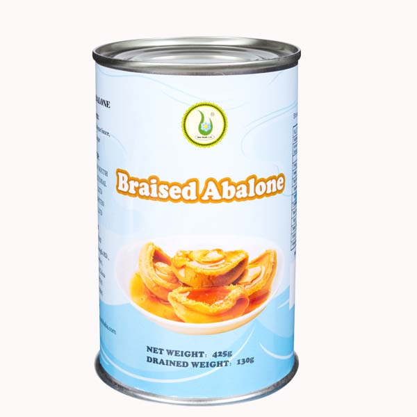 Canned braised abalone