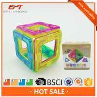 Hot sale intelligent magnetic block brick toys for kids