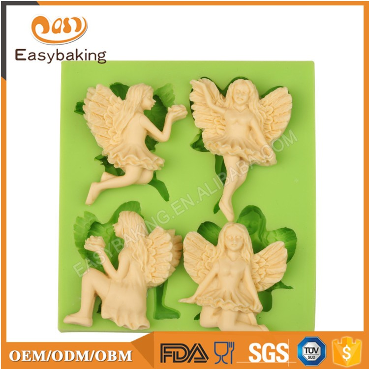 ES-1929 Fondant Mould Silicone Molds for Cake Decorating