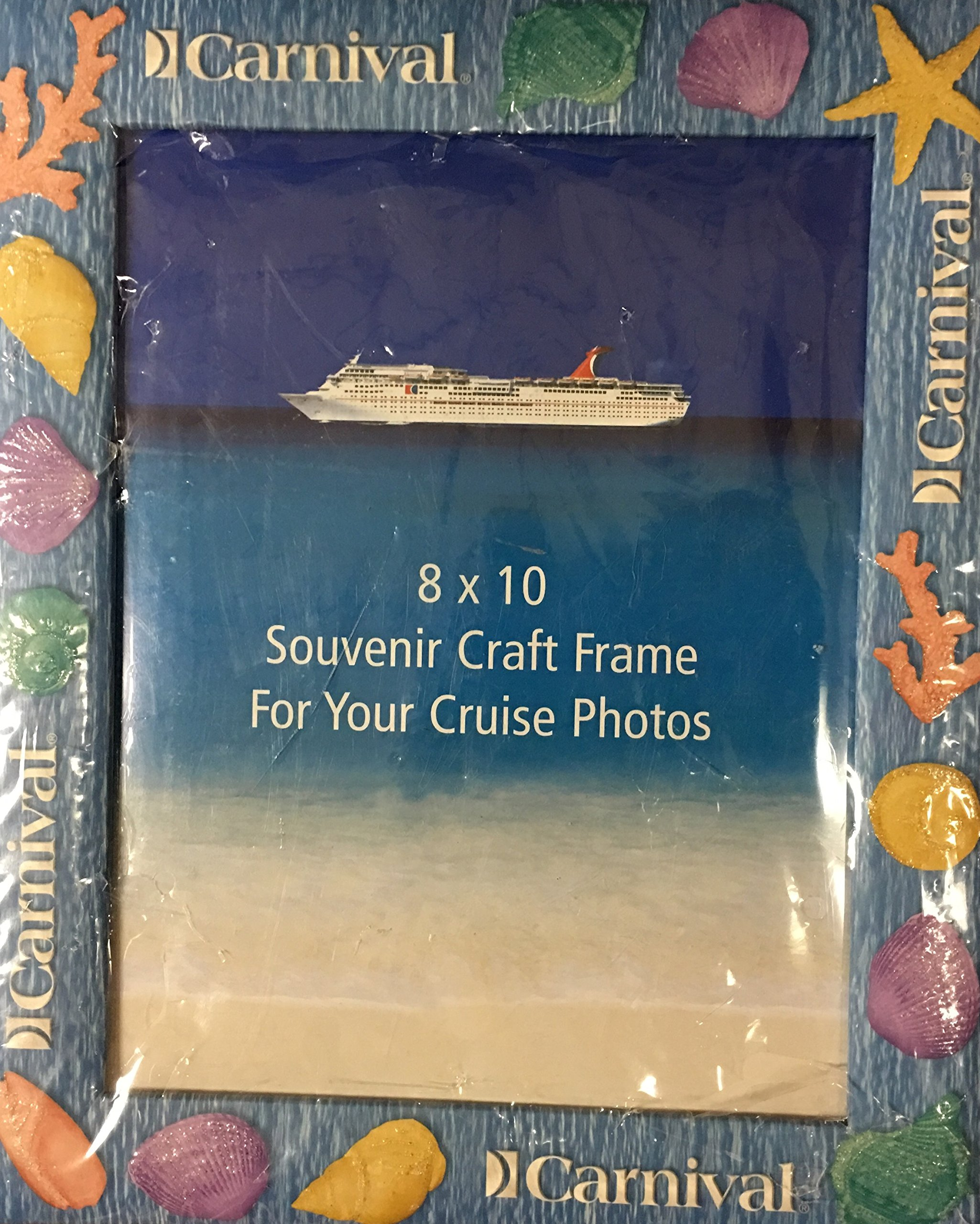 Carnival Cruise 8x10 Souvenir Craft Frame For Your Cruise Photos