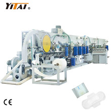 Full Automatic Fast & Easy Packing Style Three Folding Women Sanitary Napkin Pad Making Machine