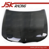 2005-2009 OEM STYLE CARBON FIBER HOOD FOR BMW 3 SERIES E90 (JSK080519)