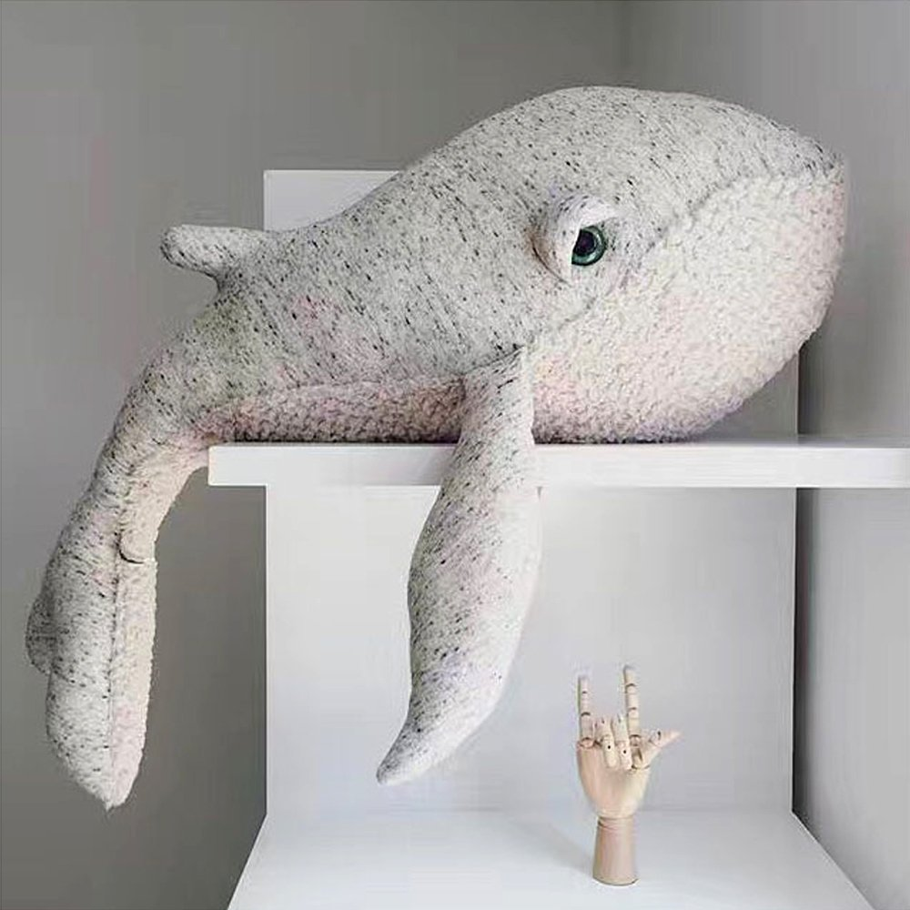 Buy Hiltow Dolphin Stuffed Animal Plush Toy Pillow Gift For Children