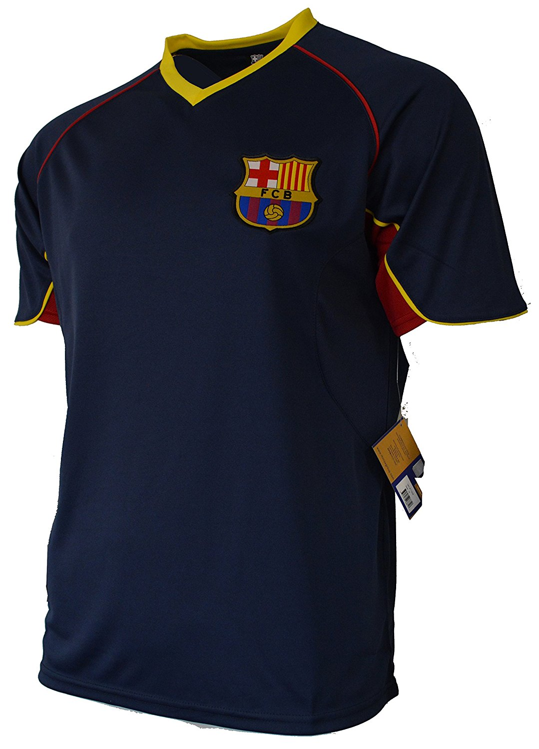 c2c1b71bc5c Get Quotations · Fc Barcelona Adult Training Jersey Performance Polyester  -Shirts - Home -Away