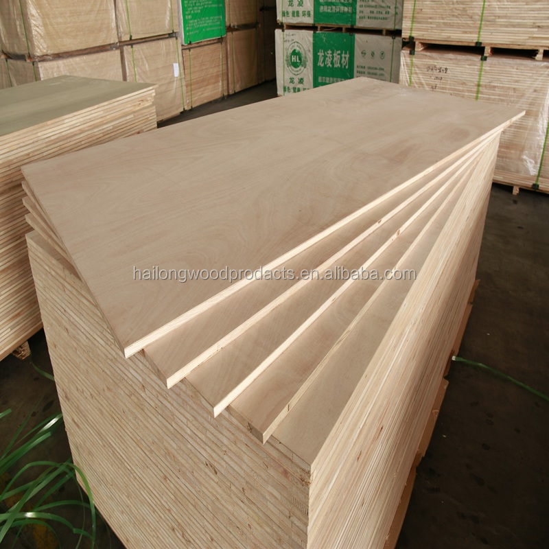 18mm Okoume Veneer Faced Malacca board core Blockboard