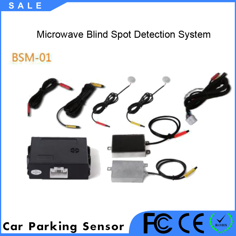 Vehicle car blind spot sensor Blind Spot Detection System Microwave Radar blind spot sensor Safe Driving
