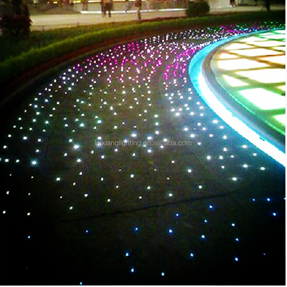 Floor Star Fiber Optic Outdoor Lighting Buy Fiber Optic