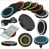 Hot sell qi wireless charger receiver for galaxy s5 , useful wireless charger for Samsung , 14 colors for choosing .