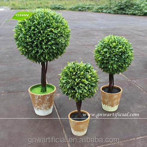small artificial plastic grass ball tree indoor plant for home garden decoration largemedium - Trees For Home Garden