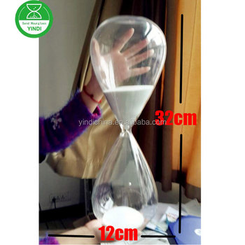 large 1 2 3 4 hour sand timer hourglass for 32cm