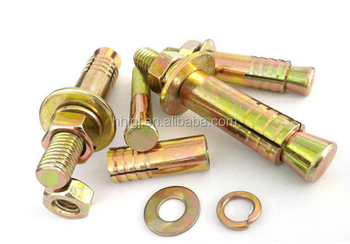 Expansion Shell Hollow Grouting Anchor Bolt Type Expansion Anchor ...