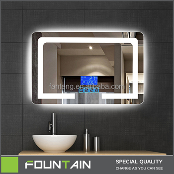 Ce Ul Certificate Wall Bathroom Vanity Light Silver Mirror Makeup Glass Hotel Bathroom Cabinet Led Mirror Buy Led Mirror Bathroom Cabinet Mirror Bathroom Mirror Product On Alibaba Com