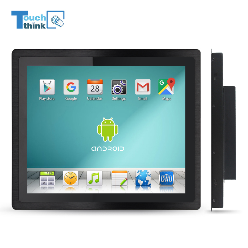 12 inch embedded touch screen mini X86 industrial panel pc for android windows xp/7/8