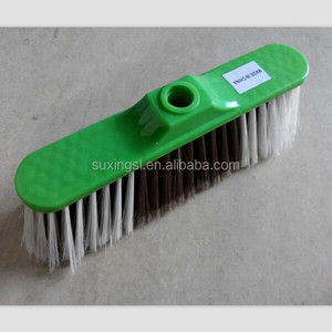 Best sale high quality PET and PP plastic made easy to clean dust India floor broom