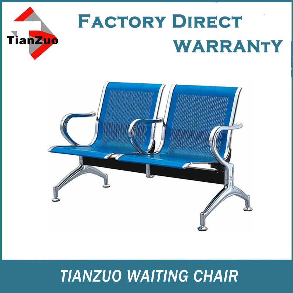 Medical office waiting room furniture iron waiting chair