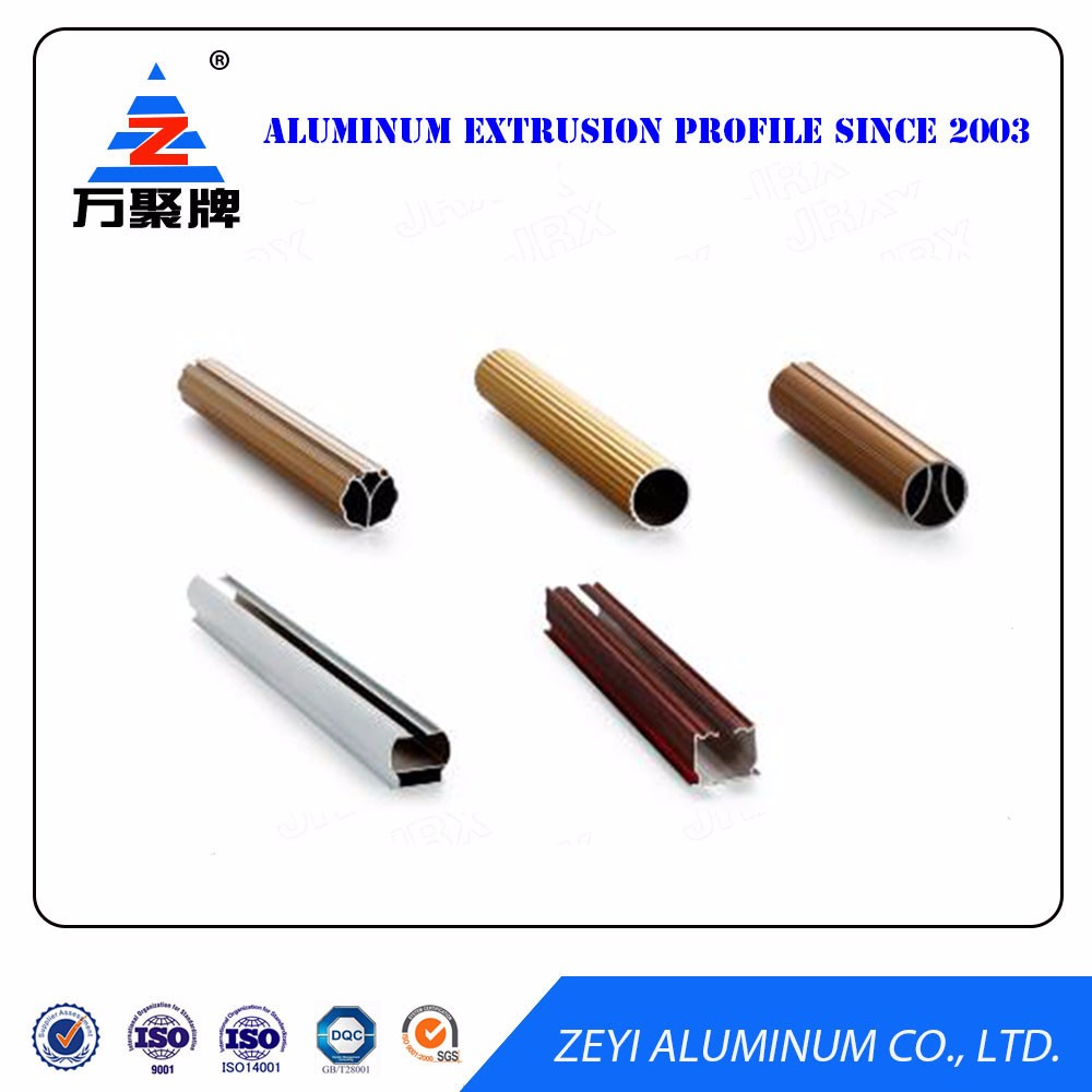 Hot! 2017 New Style flexible aluminum shower curtain rod
