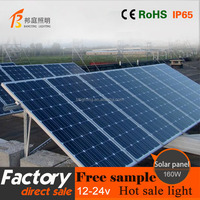 1 Excellent Techniques Best Price Power 160W watt monocrystalline silicon solar panels the charging panel for solar system