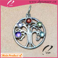 316L STAINLESS STEEL JEWELRY tree of life pendant Made in China