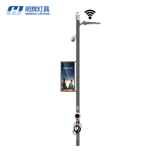 Hot sale ! Smart Pole / Smart Street Light Pole with Charge Station
