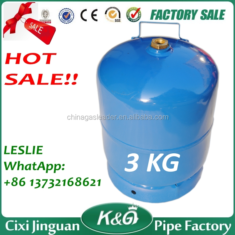 Factory Supply Africa Tanzania Kenya 3KG 5KG 6KG 10KG 12.5KG Portable Home Cook LPG Gas Cylinder, LPG Gas Tank, LPG GAS Bottle