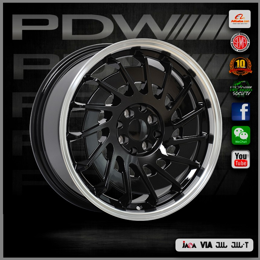 PDW brand replica HRE wheels , China aluminum rims factory near Shanghai