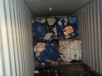 HDPE Drum - 2 loads - baled - scrap - waste - recycled