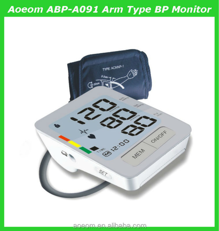 House Hold Products Medical Monitor For Hypertension Digital Bp ...