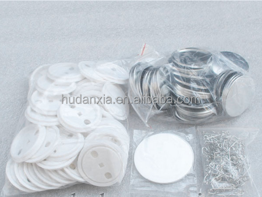 plain China anime button badge components/Material Button Badge 25mm,32mm,44mm ,56mm,58mm,