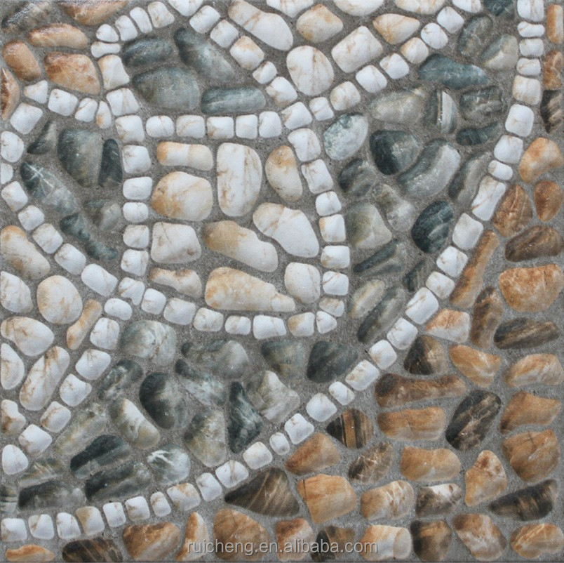 Hot Sale Outdoor Cobblestone Courtyard Floor Tile