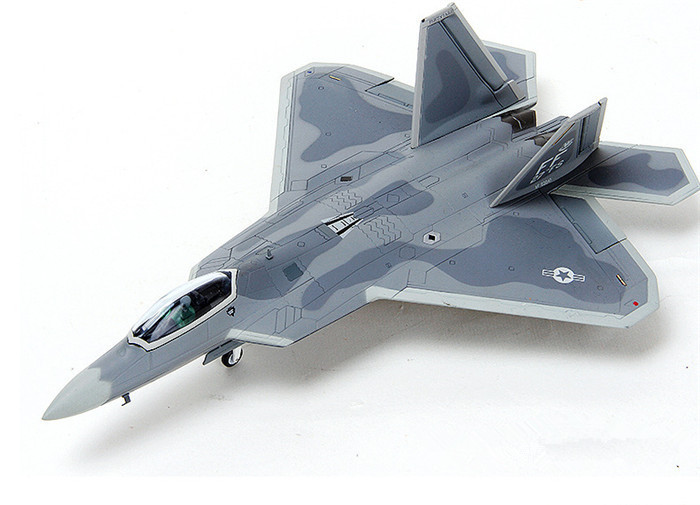 1:72 scale alloy airplane moedel F22 alloy aircraft military model for business gift