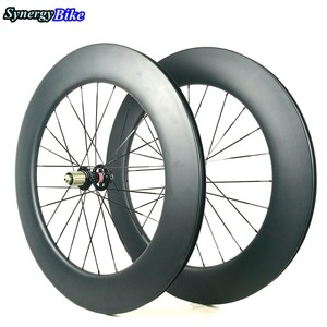 Synergy 88MM Tubular Clincher Wheelset 700C Road Carbon Disc Brake For Road Bicycle