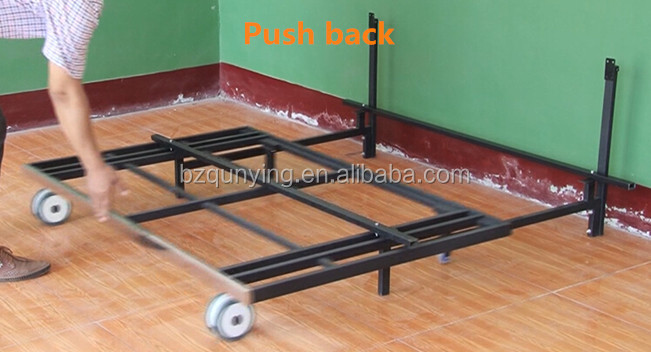 Steel Metal Space Saving Sofa Bed Frame With Easy