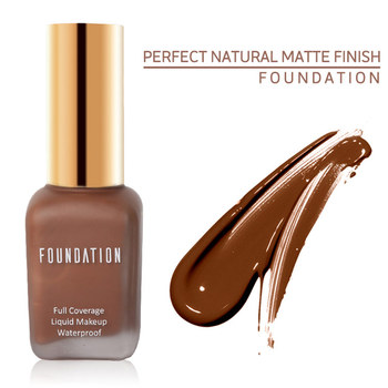 Cosmetic makeup halal foundation full coverage private label foundation